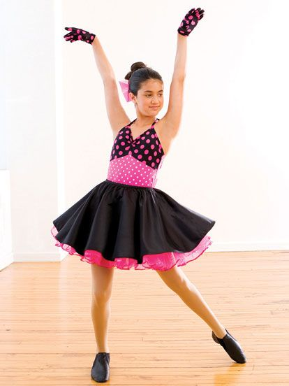 44cfb5fde729 Let's Twist - Style 019 | Revolution Dancewear Jazz/Tap Dance Recital  Costume