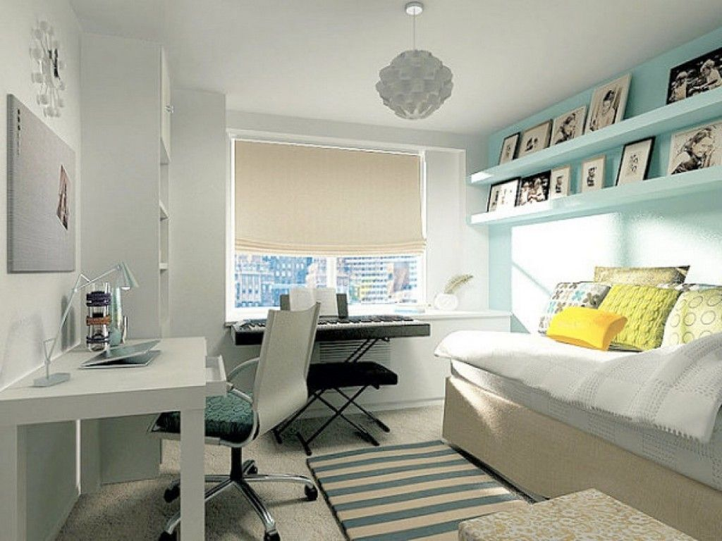 Bedroom Designs For A Small Room I Love The Shelves For Photos And Art  Decorating Interior