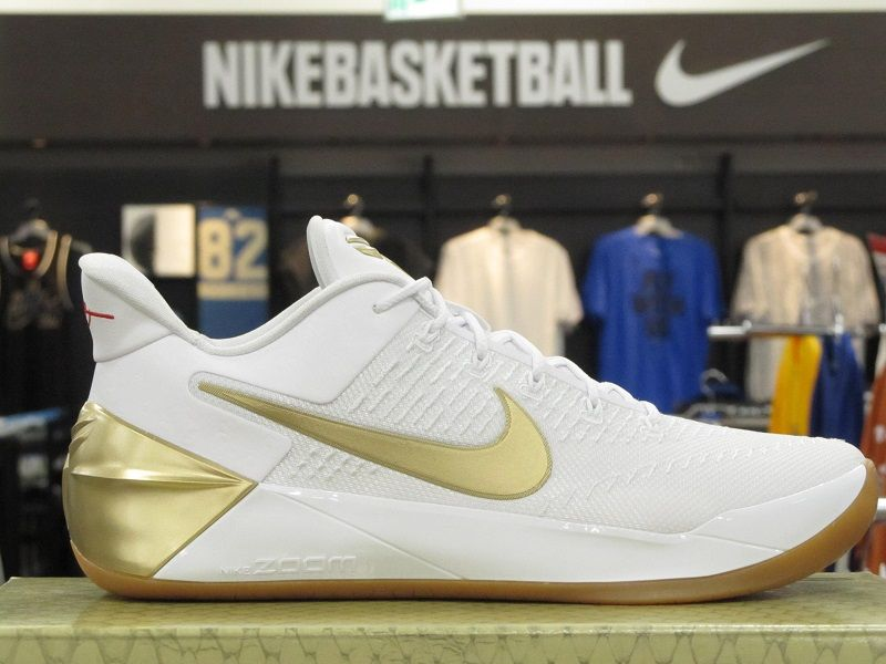 Nike Kobe Ad Big Stage White Gold Basketball Shoes 852425 107 Retro6 Porquechidos Retrotwelves Flugamet Gold Basketball Shoes Sneakers Nike Sneakers Men