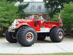 4X4 Fire Truck | Surfer Jerry