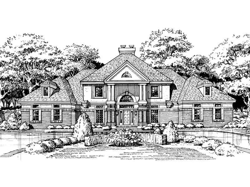 Westleigh Terrace Luxury Home House Plans Luxury Homes Luxury House Plans