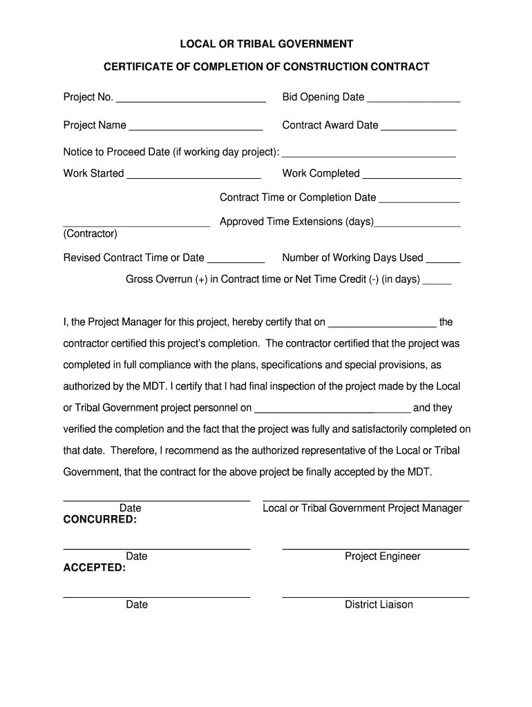 Roofing Certificate Of Completion Fill Out And Sign Printable Pdf Template Certificate Of Completion Template Certificate Of Completion Construction Contract Roofing certificate of completion template