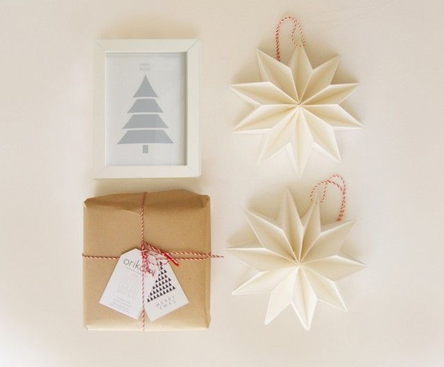 Decoration De Noel En Origami
