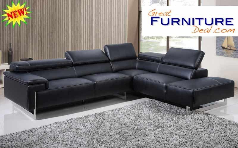 Como Modern Sectional Sofa W