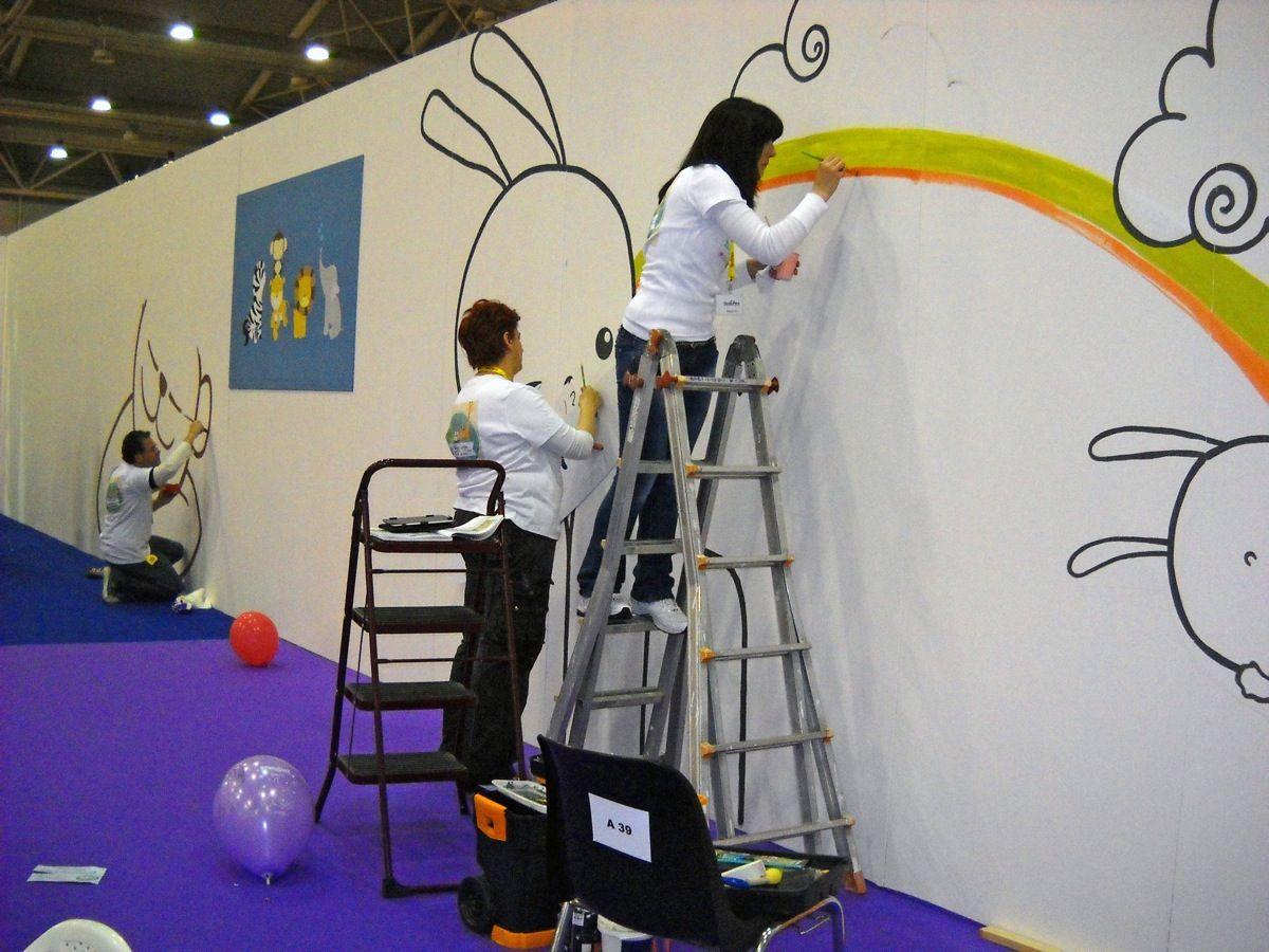 Decorazioni fatte a mano per camere bambini bimbinfiera for Decorazioni per camere