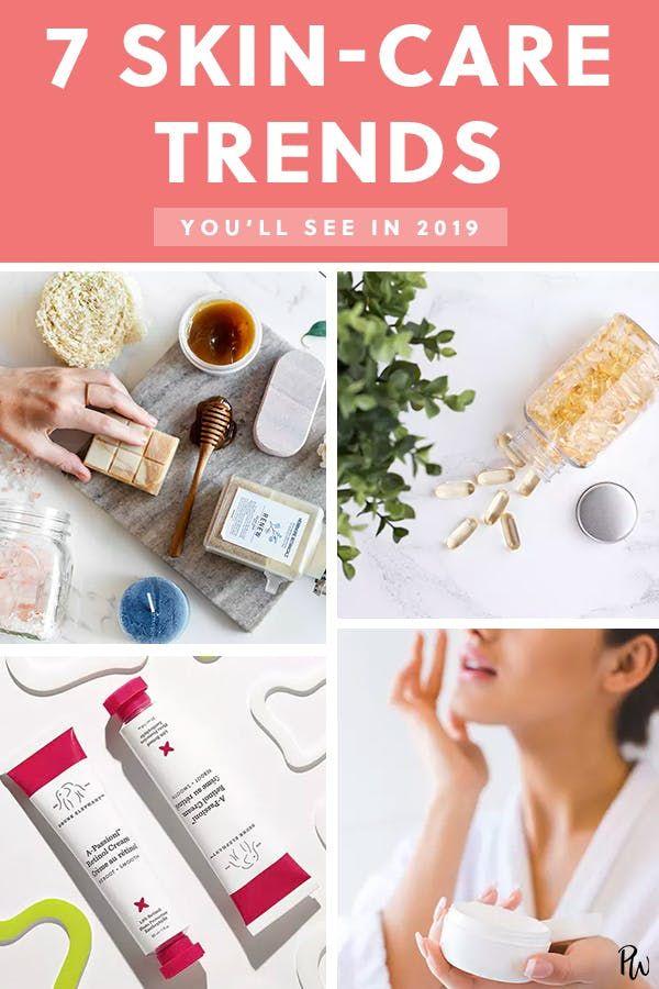 7 Hautpflege-Trends, die Sie bis 2019 sehen werden