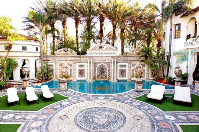 Gianni Versace's Former Miami Beach Home Lists for $125 Million