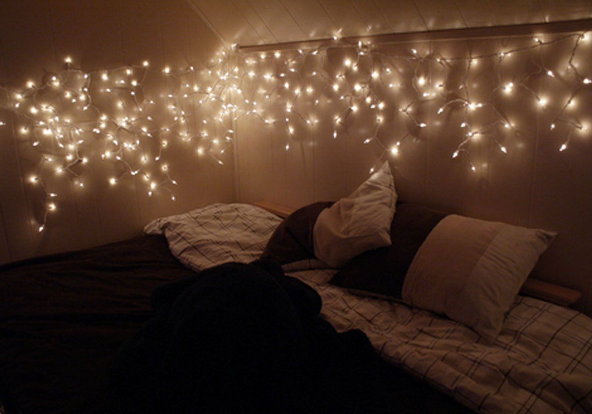 Fairy Lights Bedroom Pinterest TrainingGreencom Interior - Twinkle lights for bedroom