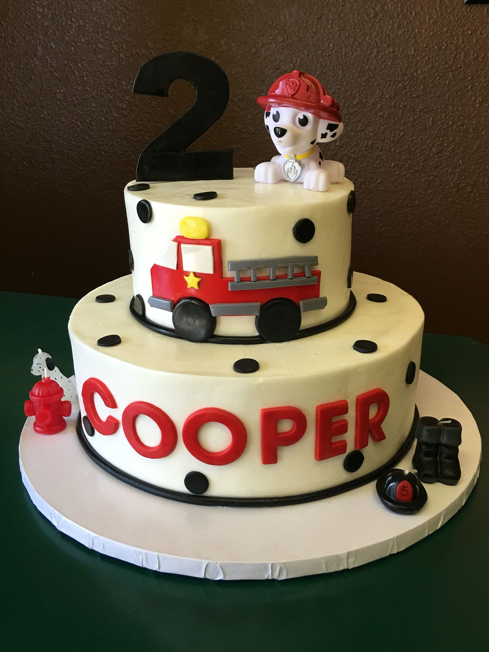 Kids Cake Fireman Theme By Designs Las Vegas