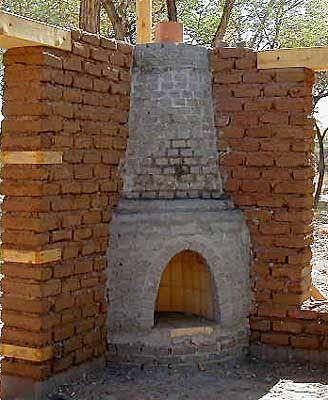 Kiva Fireplace Finished Waiting For 3 Coats Of Plaster Adobe Fireplace Outdoor Fireplace Southwest House