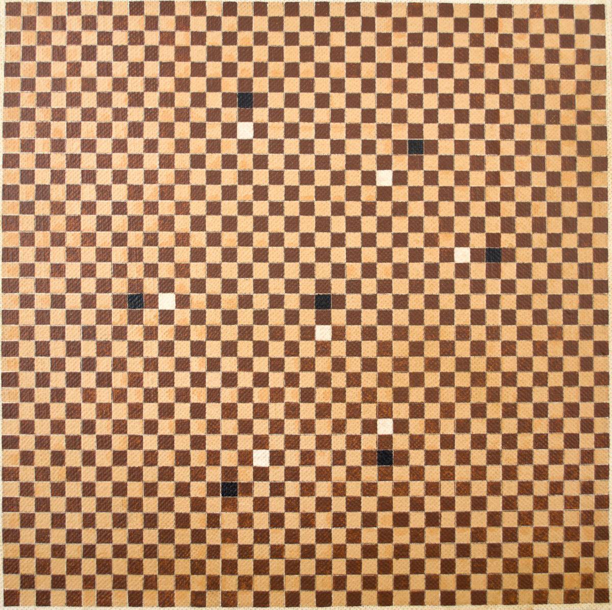 IVAN SERPA (1923 - 1973) Título: Composição Técnica: óleo sobre tela Medidas: 40 x 40 cm Assinatura: dorso