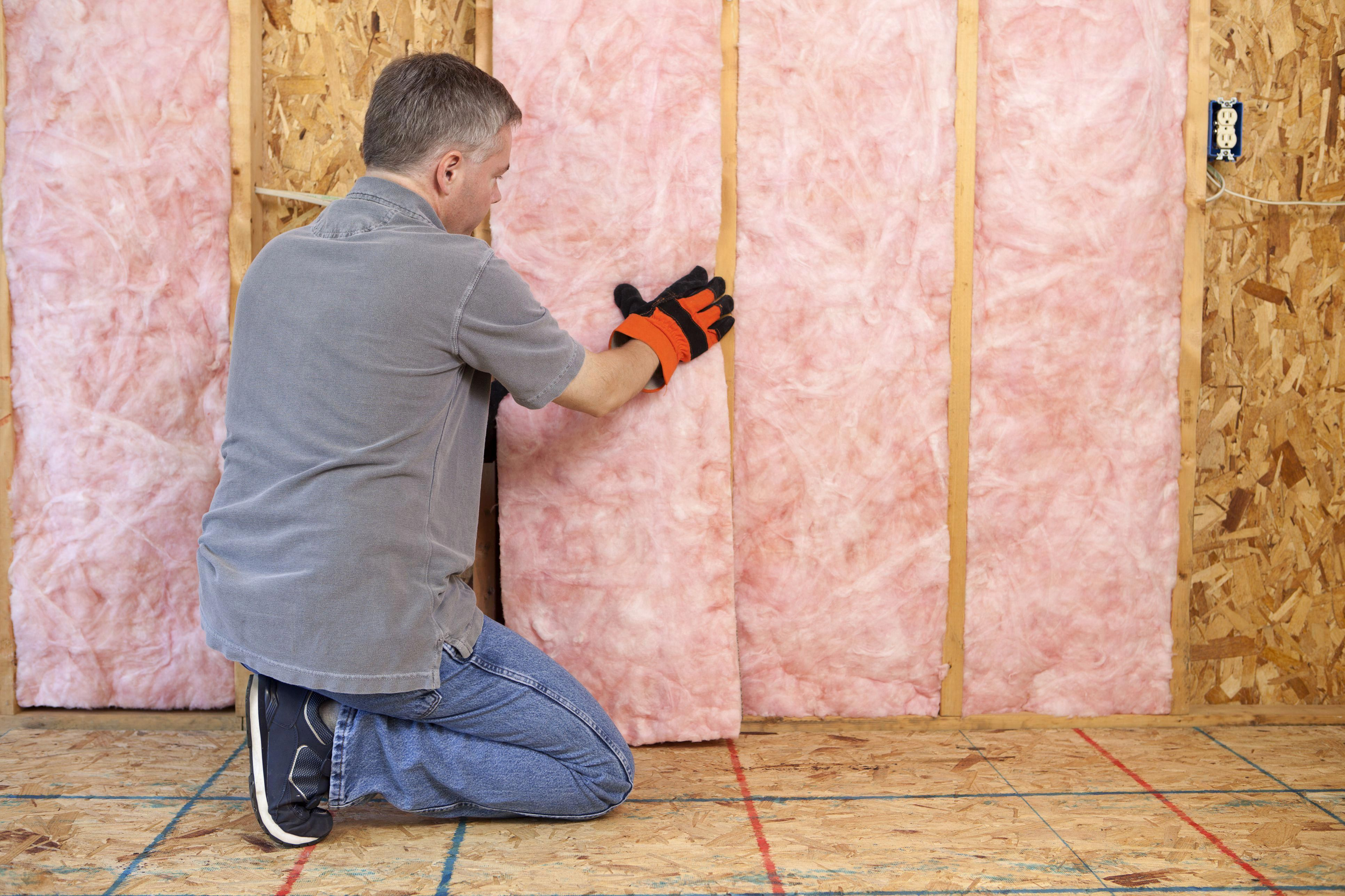 Learn How To Install Fiberglass Roll Or Batt Insulation In Your Open Walls Before The Drywall Goes In P Garage Insulation Installing Insulation Home Insulation