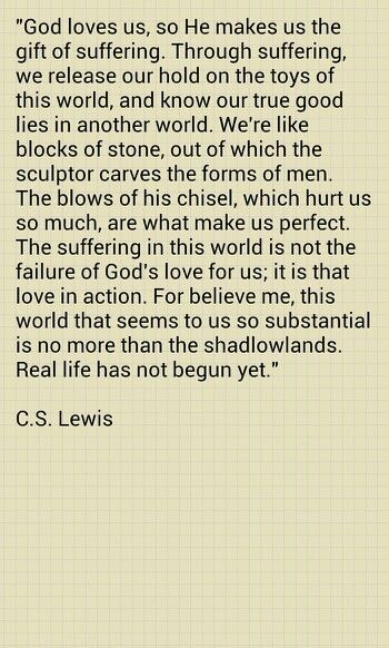 Quotes God Cs Lewis 42+ Ideas