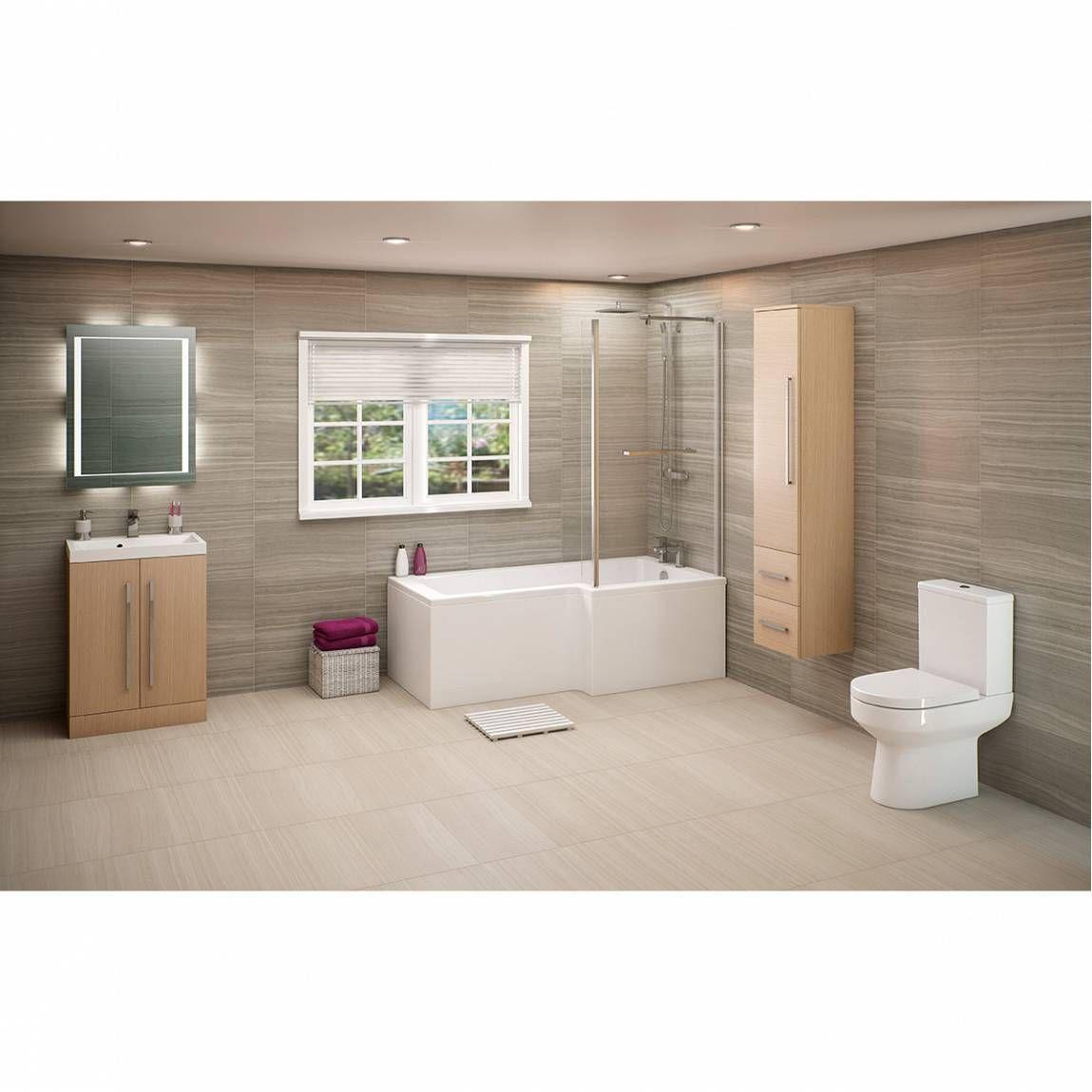Plumbs bathroom suites - Drift Shower Bath Suite Rh Victoria Plumb