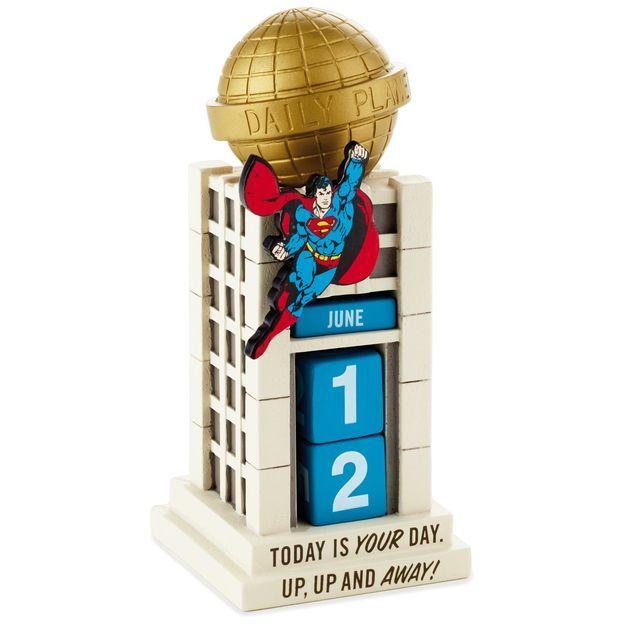 Superman Daily Planet Perpetual Calendar