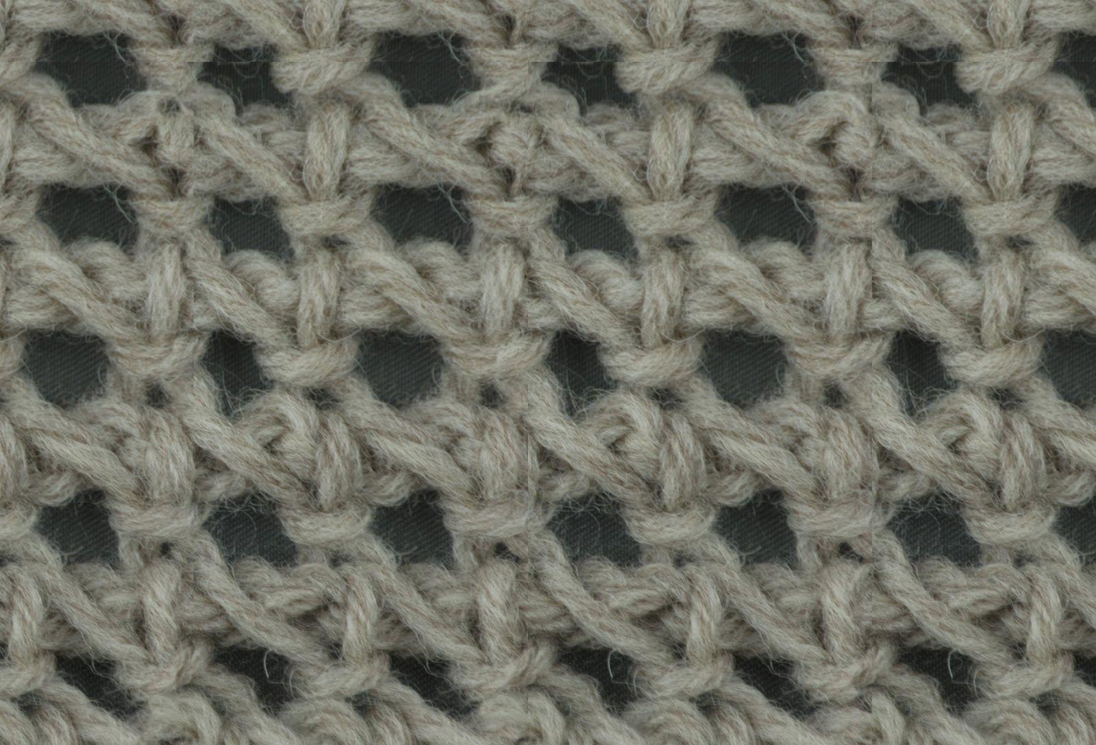 Tunisian Crochet: Tunisian Chain Lace | Tunisian Crochet | Pinterest ...