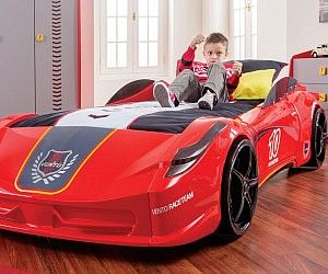 Letto A Forma Di Auto Da Corsa : Race car bed lavahot lavahotdeals us cheap race