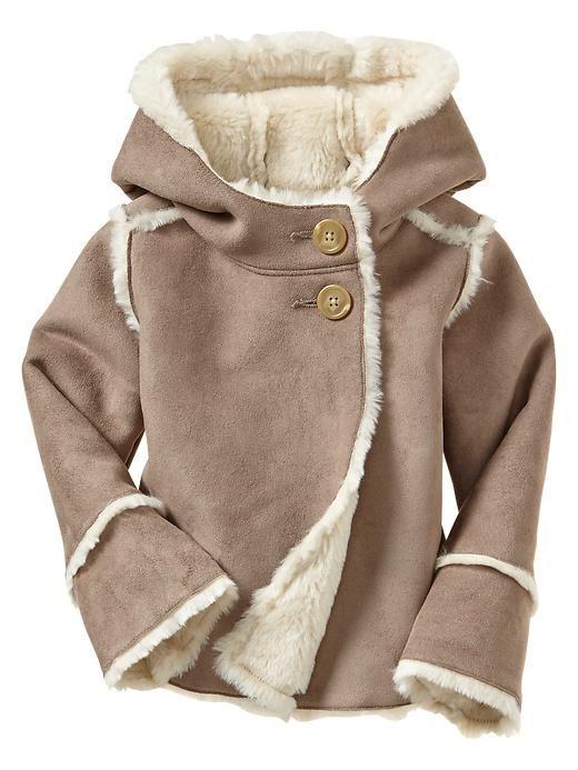 Gap | Shearling jacket | Baby girl | Pinterest | Shearling jacket ...