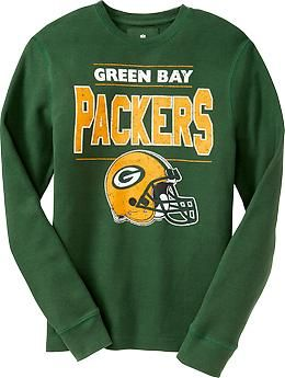 dd9964ab8 Men's NFL® Thermal Tees | Old Navy Nfl Womens Jersey, Green Bay Packers,