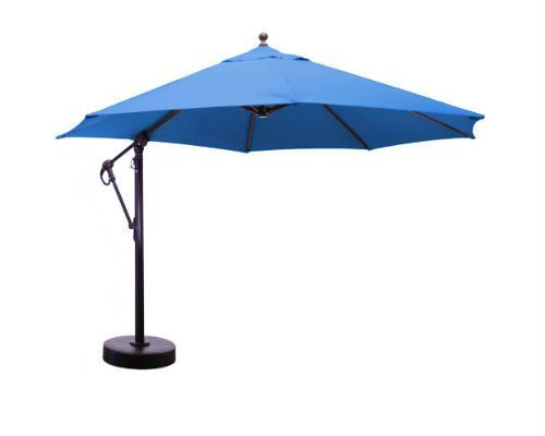 11 Ft Cantilever Aluminum Market Umbrella Cantilever Umbrella Market Umbrella Outdoor Umbrella