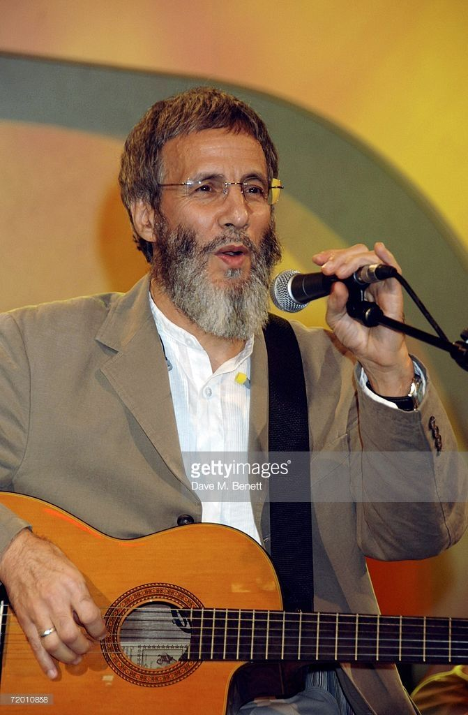 Yusuf Islam performs on stage at the Fortune Forum Summit, at Old Billingsgate Market on September 26, 2006 in London, England.  photo by Dave M. Benett
