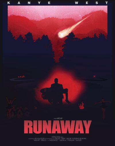 Runaway - Kanye West Art Print