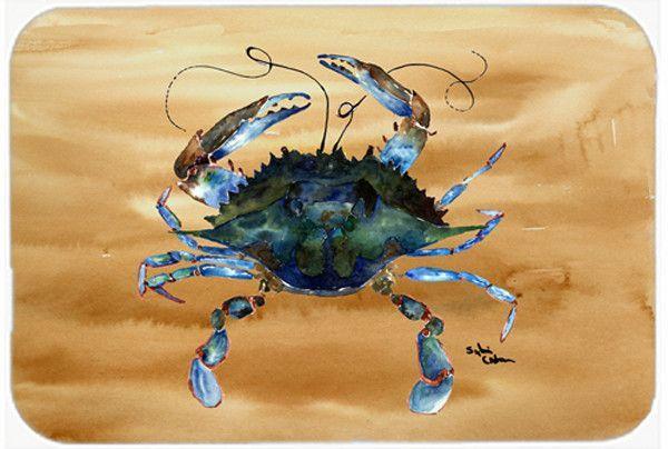 Crab Glass Cutting Board