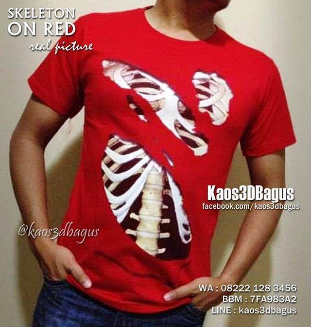 Jual Kaos 3d Terbaik On Instagram Kaos 3d Skeleton Kaos Gambar Rangka Manusia Kaos Tengkorak 3d Bisa Semua Warna Kaos Bisa Semua Model Kaos 3d Kaos Cowok