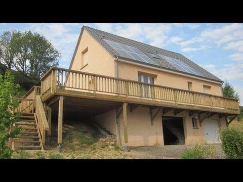 Construction terrasse bois sur pilotis - YouTube Terrasse Pilotis