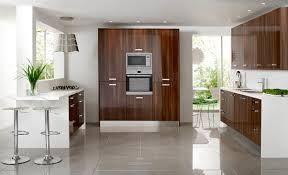High Gloss Walnut Kitchen Cabinets Google Search Contemporary
