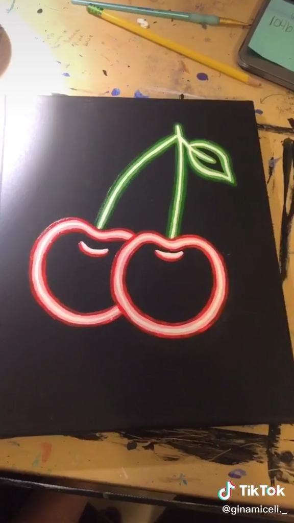 Pin By Manha Zahid On Art Video Neon Art Painting Diy Art Painting Diy Canvas Art Painting