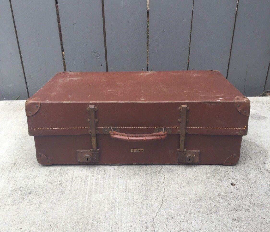 Vintage Suitcase; Revelation Expandable Suitcase; Vintage ...