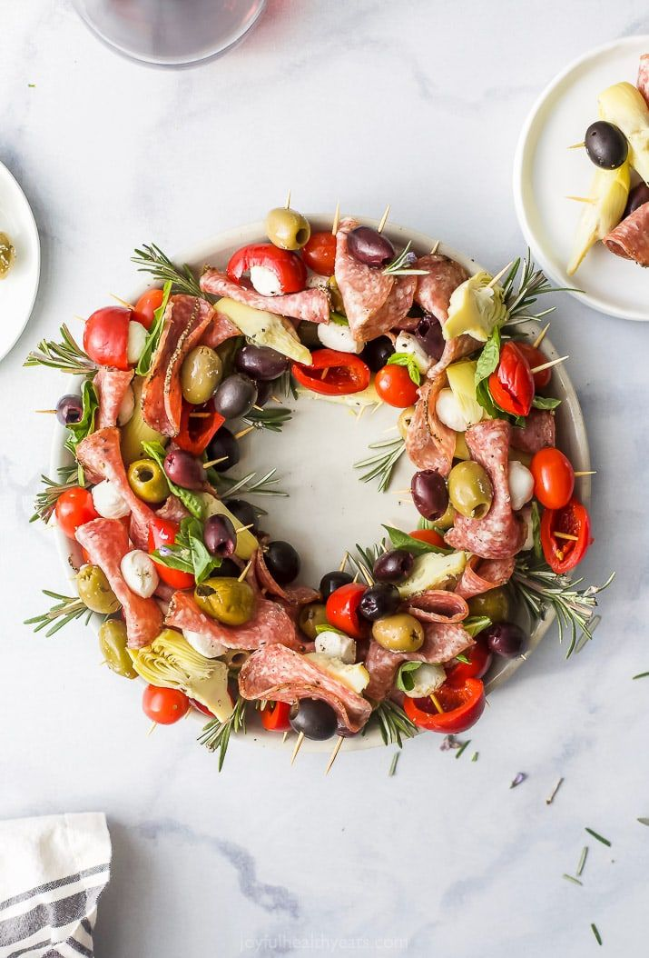 Photo of Christmas Wreath Antipasto Skewers – An Easy and AMAZING Appetizer!
