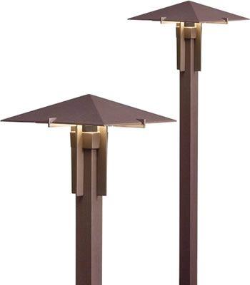 kichler 15803 led forged mission style path light a. Black Bedroom Furniture Sets. Home Design Ideas