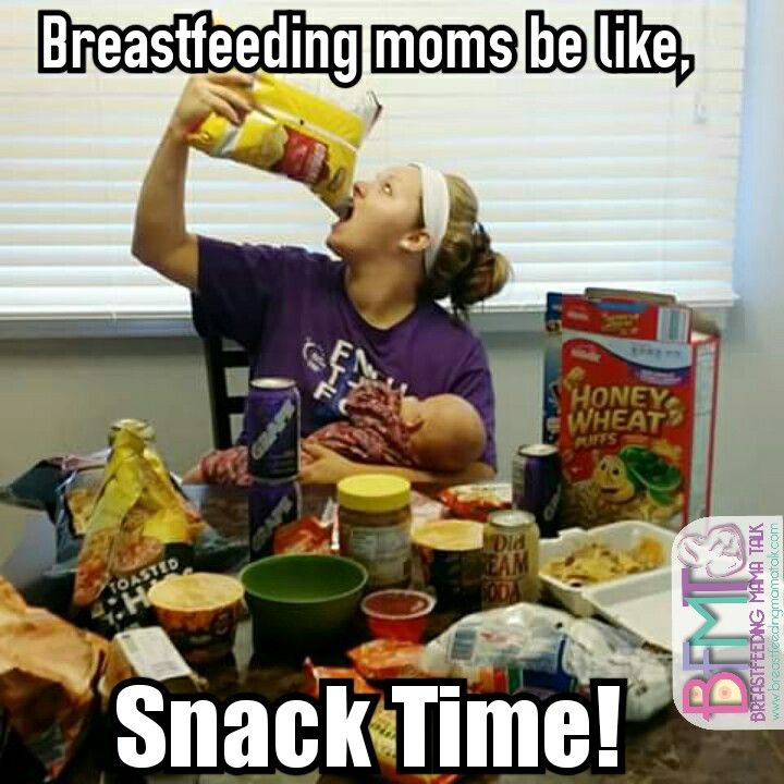 Image result for breastfeeding and hungry meme