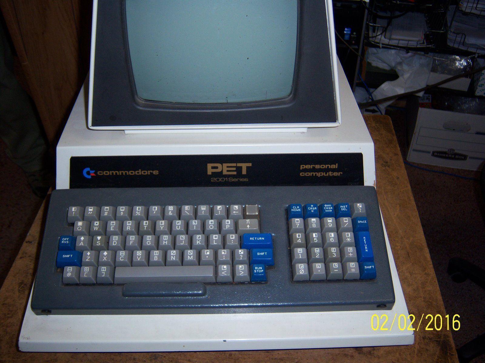 Commodore PET 2001-8 | Commodore Vintage Computers | Pinterest