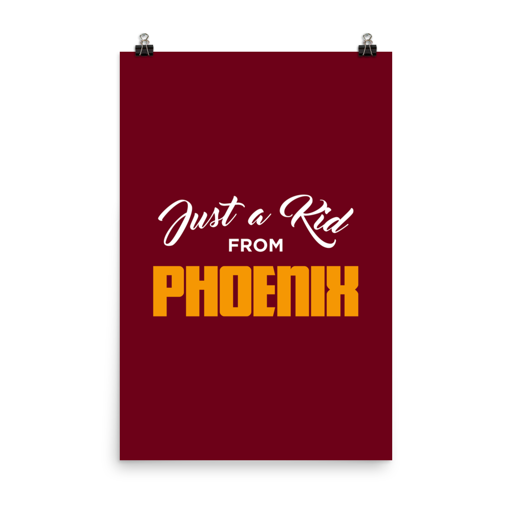 Just a Kid from Phoenix Poster