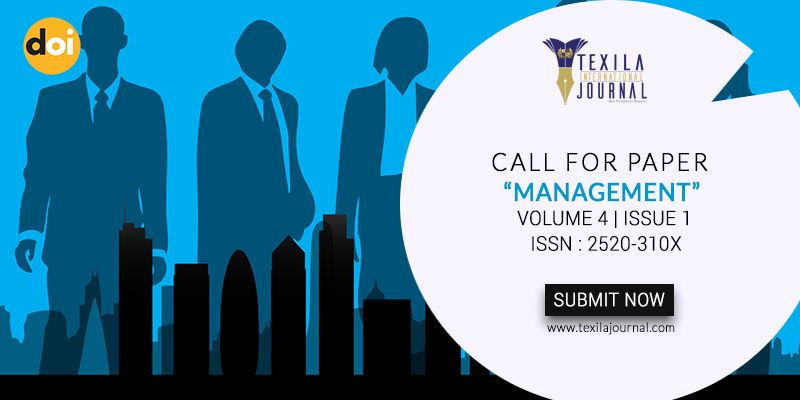 Call For Paper Management An Great Opportunity To Publish Your Research Works In Internationaljournal Journal Management International