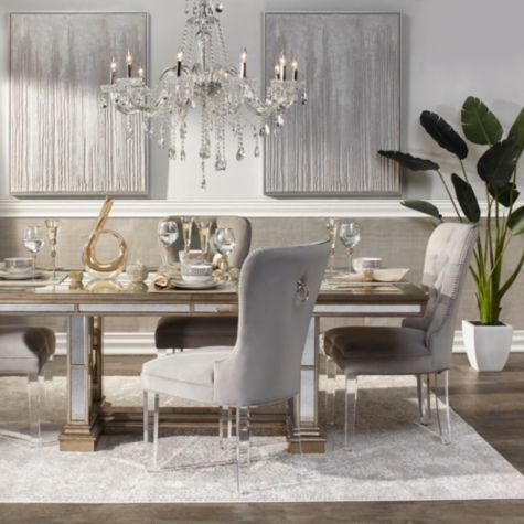 Faux Palm Tree In 2020 Dining Room Inspiration Decor
