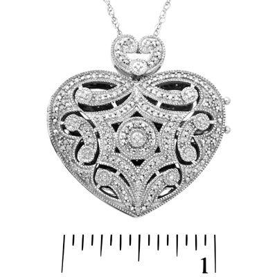 1/2 Ct Blue & White Sapphire Snowflake Pendant In Sterling Silver Fine Jewelry