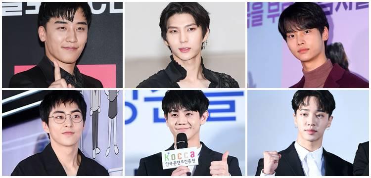 Six Male Idols Scheduled To Enlist In 2019 Idol Male In 2019