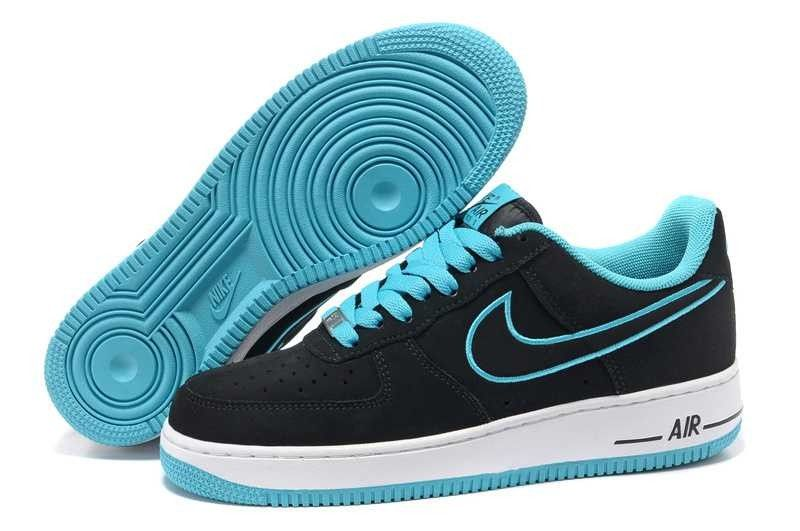 air force one low noir homme