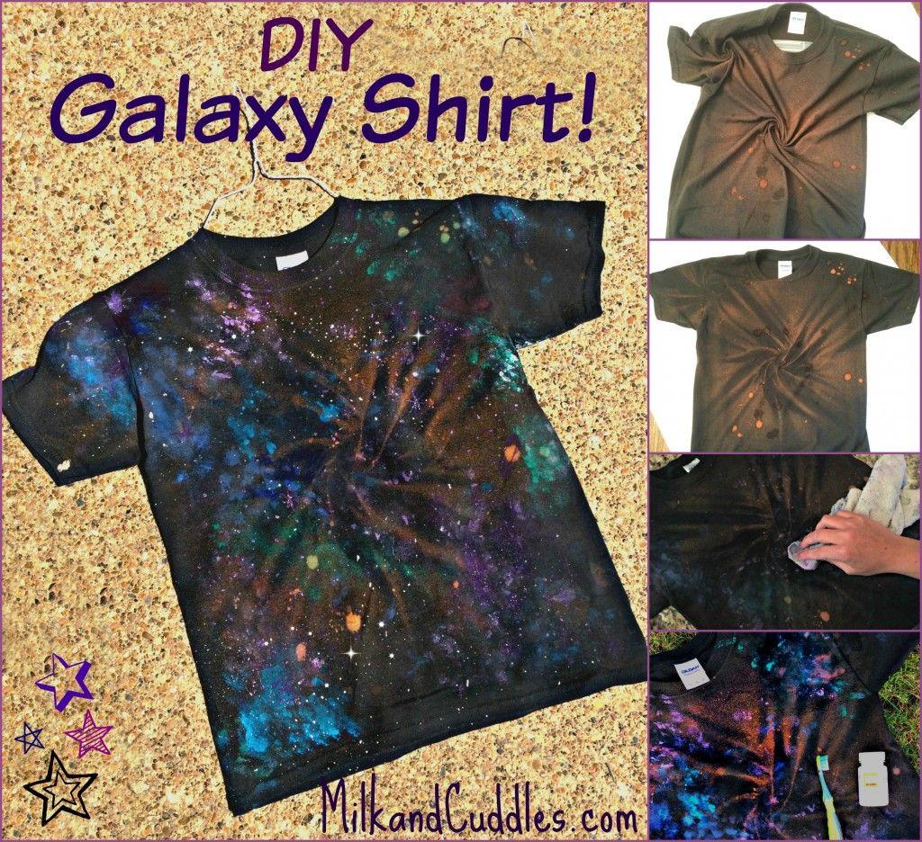 Fun Diy How To Make A Galaxy Shirt