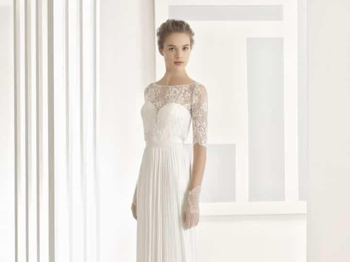 25 vestidos de novia plisados muy elegantes | suknie ślubne