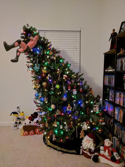 STRENGTH FIGHTER™: Randy Orton RKO Christmas tree - STRENGTH FIGHTER™: Randy Orton RKO Christmas Tree WWE Funny