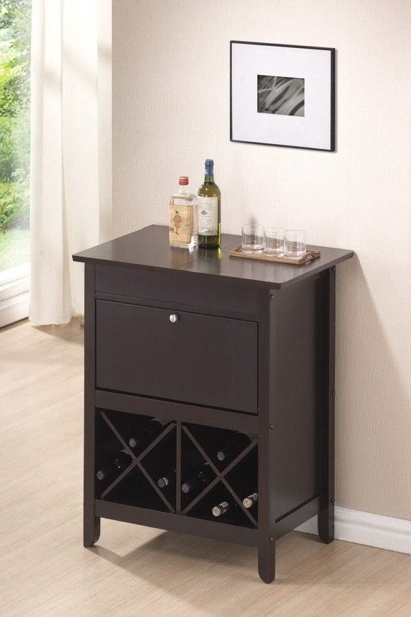 Modern Bar and Wine Cabinet - Home Bars Ideas interior decorating
