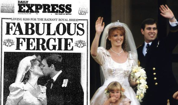 Image result for britians prince  andrew marries fergie