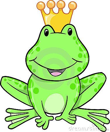 Frog Prince Vector Cute Frogs Frog Prince Free Clip Art