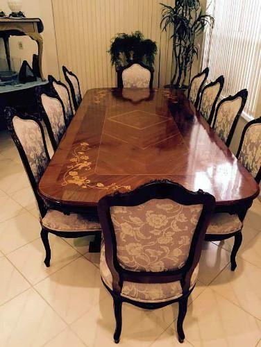 30+ Estate sale dining room set Top