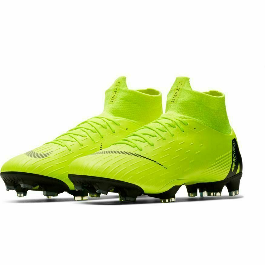 sports shoes cf78e c01ce Advertisement(eBay) Nike Mercurial Superfly 6 Pro FG Soccer Cleats Boots  Volt Green Black